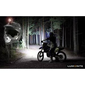 Enduro hjälmlampa, Lilla Lumonite-paketet, 3000 lumen