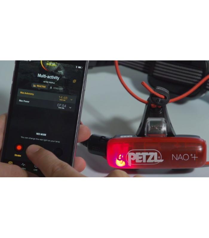 Petzl NAO+ kompakt pannlampa med bluetooth funktion