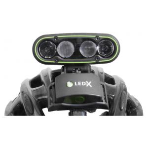 Hjälmlampa LEDX Mamba
