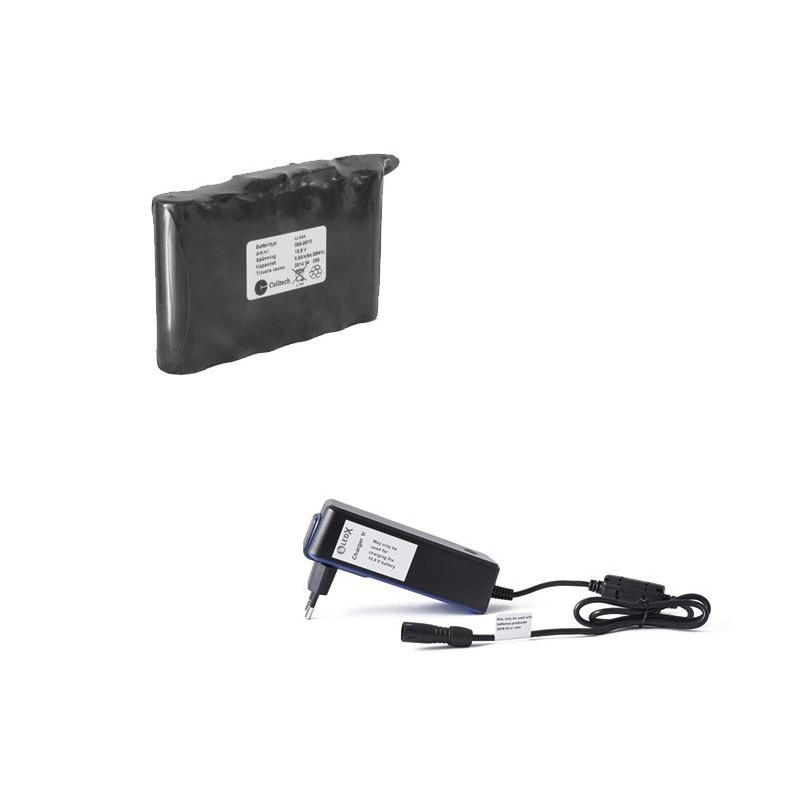 LEDX mellan batteri 75Wh + laddare
