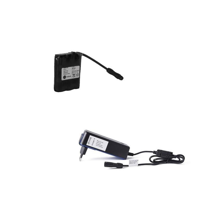 LEDX litet batteri 38Wh + laddare