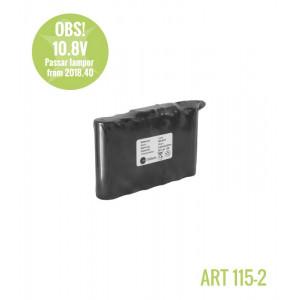 LEDX batteri mellan (10,8V/7Ah/75Wh)