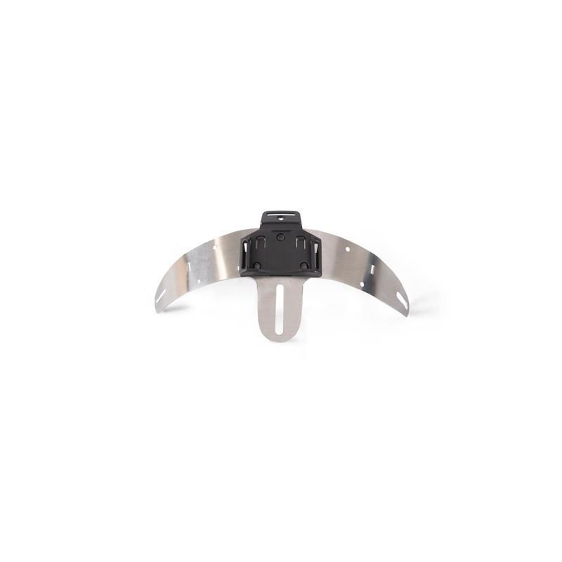 LEDX Helmet mount for enduro singel, 1 lamp holder