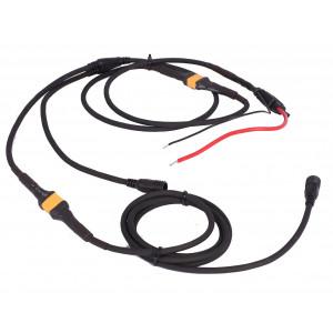 M Tiger Sport 12V-kabel med vurpkontakt för två SuperionM