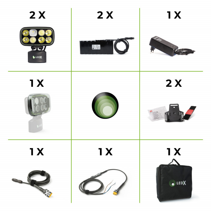 LEDX Enduro-kit