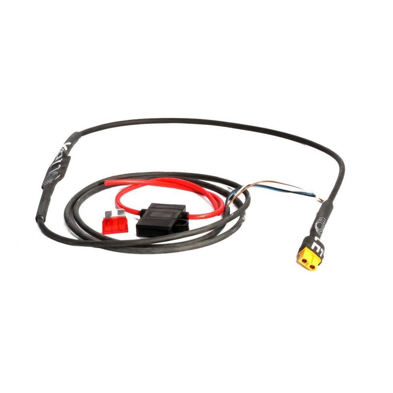 LEDX Skyddskabel (MC-kabel) XT60
